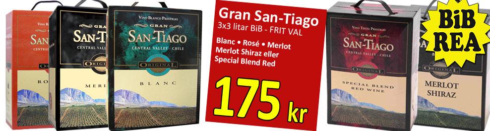 Gran San-Tiago Bib REA