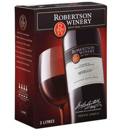 Robertson Merlot 13,5% 3l BIB