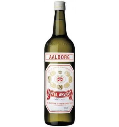 Aalborg Taffel Akvavit Rød 45% 1l
