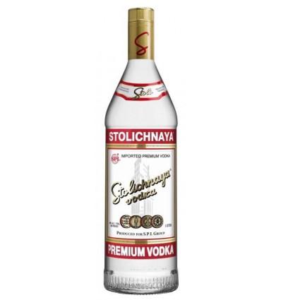 Stolichnaya Premium Vodka 40% 1 ltr.