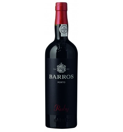 Barros Ruby Port 0,75 Ltr.