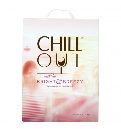 CHILL OUT Bright & Breezy Rosé 3,0l 12.5%