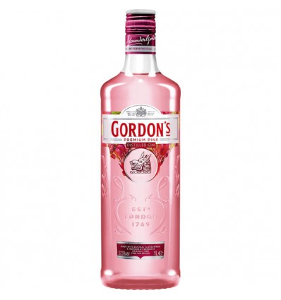 Gordon's Premium Pink Distilled Gin 37,5% vol. 1,0l
