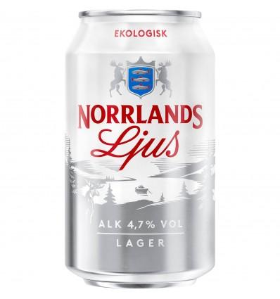 Norrlands Guld Ljus Ekologisk 4,7% 24x0,33 l.
