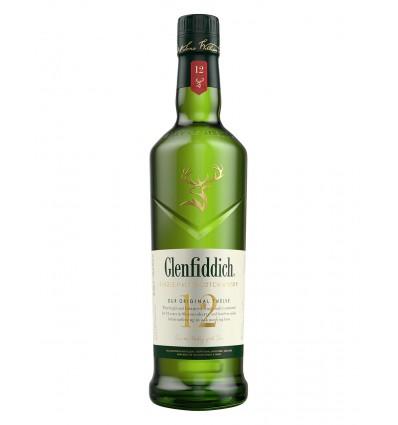 Glenfiddich 12YO 40% 1,0 l.