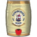 Flensburger Gold på fat 4,8% vol 5,0l