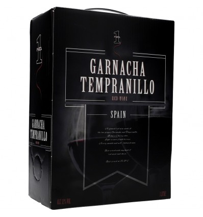 No.1 Garnacha Tempranillo 12,0% Vol. 3,0l Bag in Box