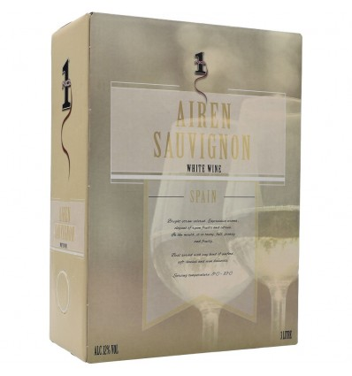 No.1 Airen Sauvignon 12,0% Vol. 3,0l Bag in Box