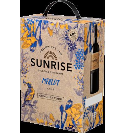 Sunrise Merlot 3 l. BIB