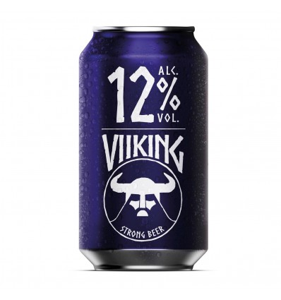 Viiking Strong Beer 12% 24x0,33