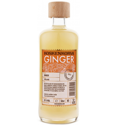 Koskenkorva Ginger vodka 21% 0.5 liter