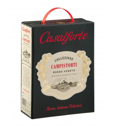 Casalforte Rosso 13% vol. 3 L BiB